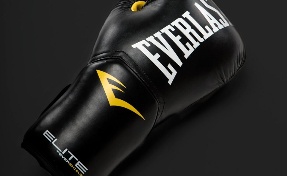 Sort Everlast boksehandske